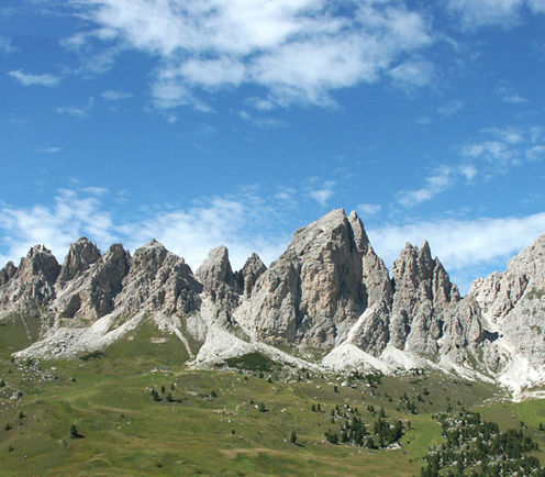 Dolomites in South Tyrol, holiday in the italian alps