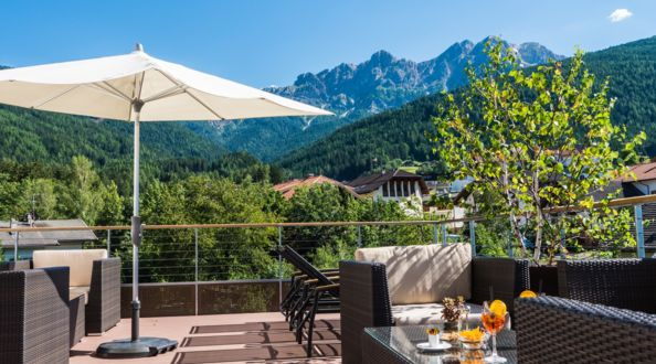 Summer in South Tyrol, holiday in the Dolomites