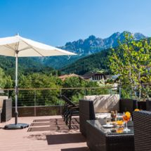 Hotel Post, view Dolomites, holiday in Italy
