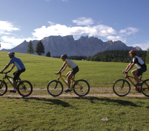 Mountainbike in den Dolomiten - Hotel Post, Olang