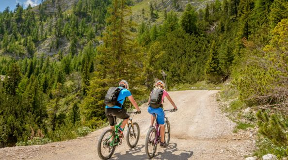 Mountainbike im Pustertal - Hotel Post, Olang