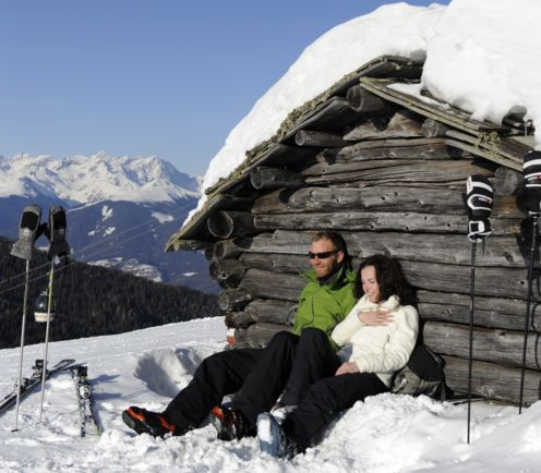 Winter holiday, Plan de Corones Italy, South Tyrol