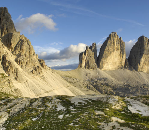 Tre Cime di Lavaredo, holiday in South Tyrol