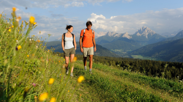 Wandern Dolomiten - Sommer Highlight in Olang, Südtirol.